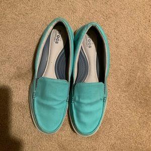 Crocs Aqua Blue